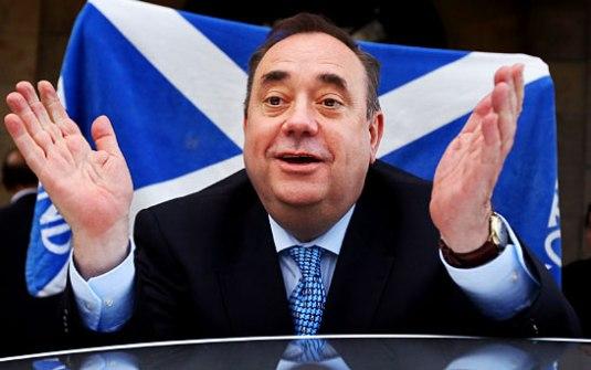 Charlie Castor, Alex Salmons, Scottish Independence