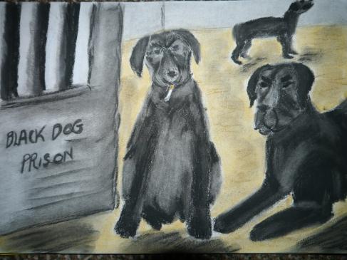 Black Dog, Charlie Castor, Fun with Depression, Depression