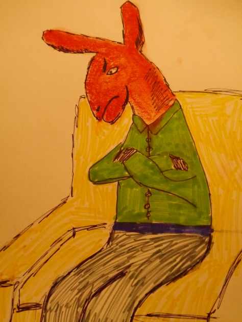 Stubborn Mule, Charlie Castor, Stubborn, Fun with Depression