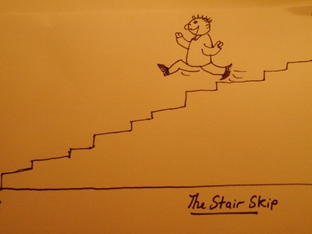 Stair Skip, Charlie Castor, Fun with Depression